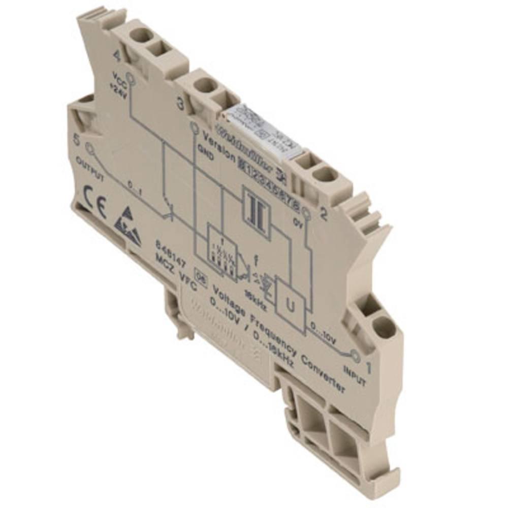 Dc/F-pretvornik MCZ VFC 0-10V kataloška številka 8461470000 Weidmüller vsebuje: 10 kosov