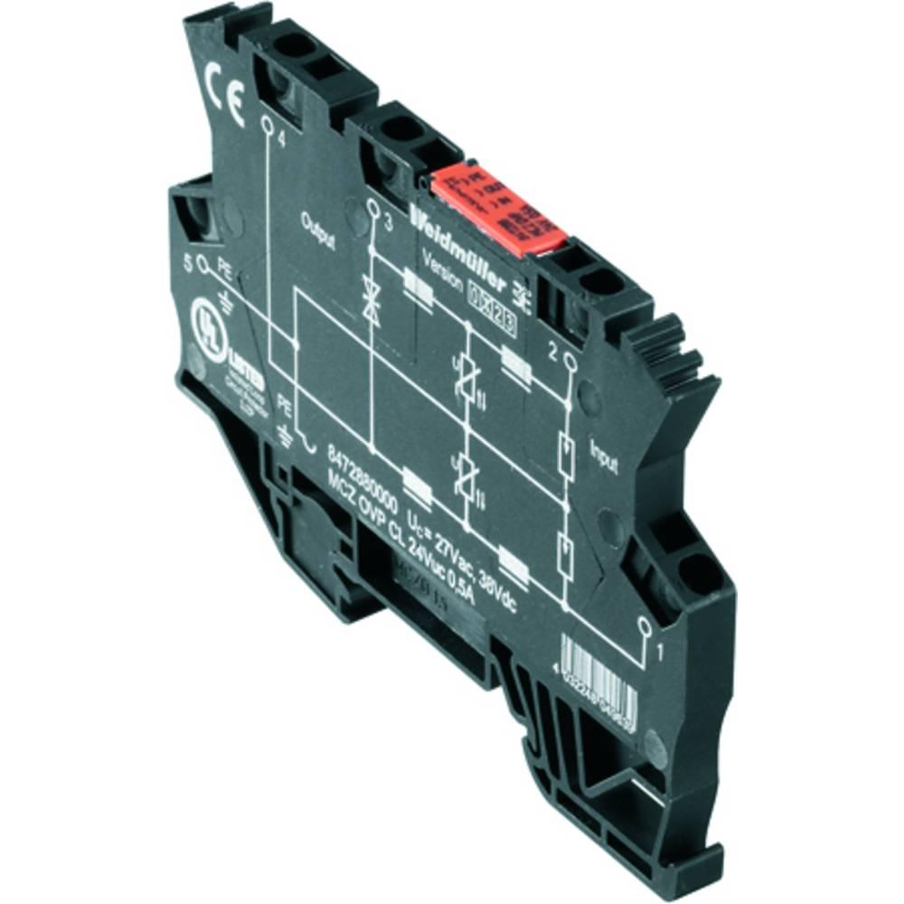 overspændingsbeskyttelse Weidmüller MCZ OVP CL 24VAC 0,5A 8472880000 10 stk