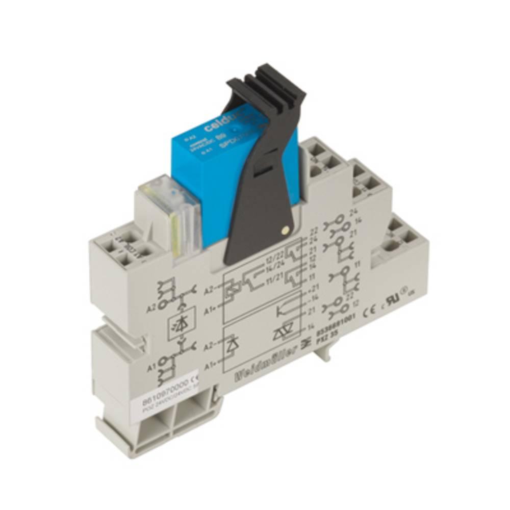 Halvlederrelæ 10 stk Weidmüller POZ 24VDC/230VAC 4A Last-Strøm (maks.): 4 A Koblingsspænding (max.): 275 V/AC