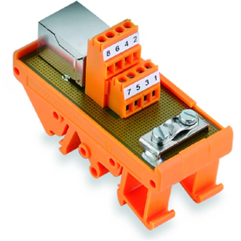 Prenosni element RS RJ45 Weidmüller vsebina: 10 kos
