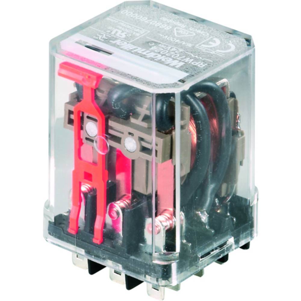 Steckrelais (value.1292892) 24 V/DC 16 A 3 Wechsler (value.1345278) Weidmüller RPW702024 25 stk