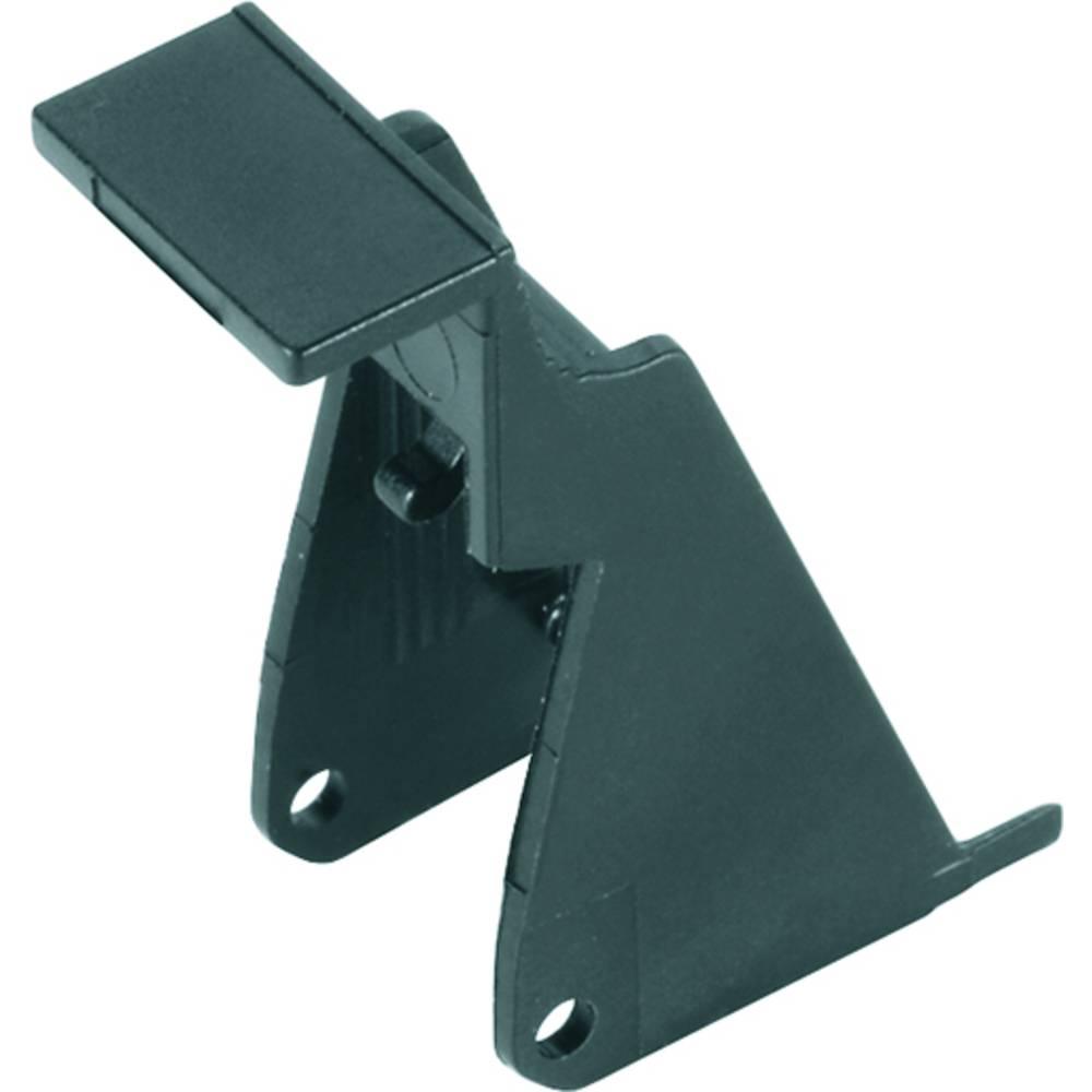Pritrdilni nosilec črne barve, 10 kosov Weidmüller SRC CLIP LP