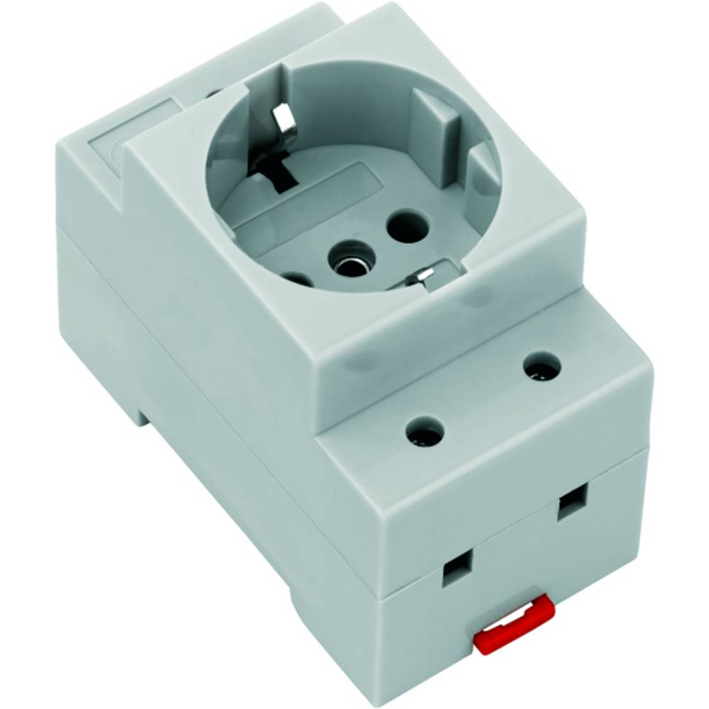 Cabinet outlet Ts 35 SCHUKO TS35 8734580000 Weidmüller 10 stk