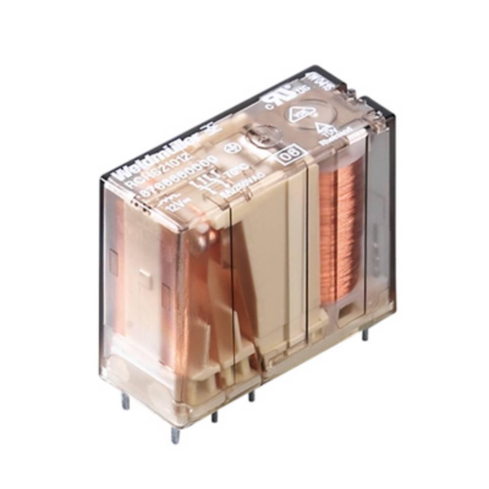 Rele za tiskana vezja 24 V/DC 6 A 2 x preklopni Weidmüller RCH S21024 20 kosov