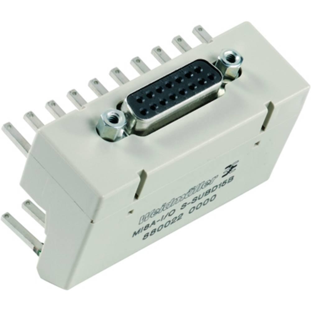 Prenosni element MI8A-I/O S SUBD15B kataloška številka 8800220000 Weidmüller vsebuje: 10 kosov