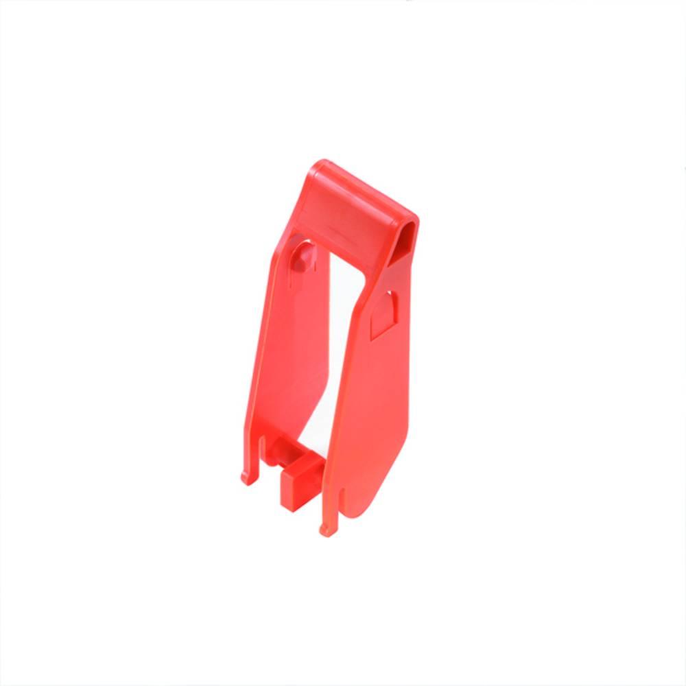 Pritrdilni nosilec oranžne barve, 10 kosov Weidmüller SRC-I CLIP HP