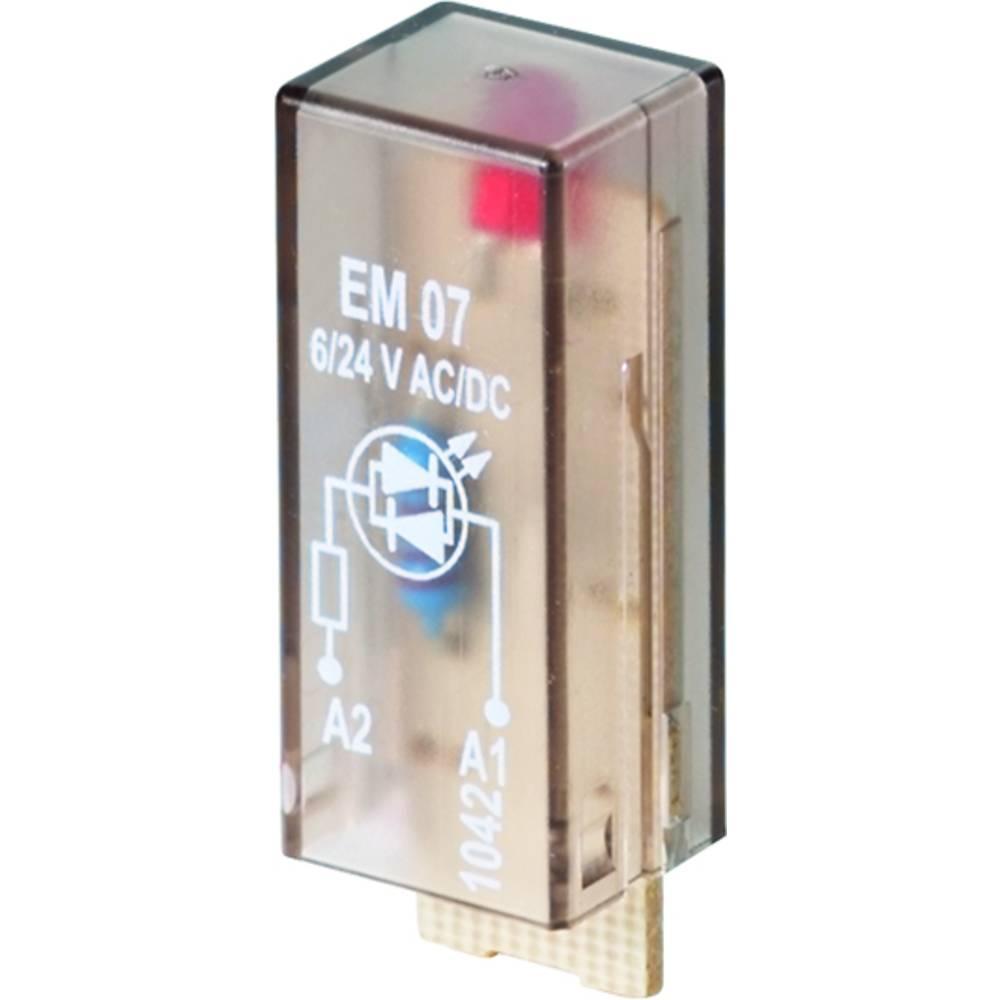 Indstiksmodul med LED 10 stk Weidmüller RIM I 3 6 / 24VUC Lysfarve: Rød Passer til serie: Weidmüller serie RIDERSERIES RCI, Weid