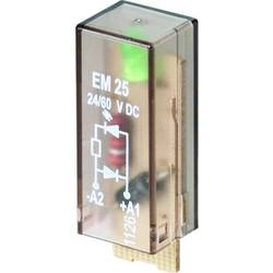 Steckmodul (value.1292944) med LED, Med friløbsdiode 10 stk Weidmüller RIM-I 2 24/60VDC GN Lysfarve: Grøn Passer til serie: Weid
