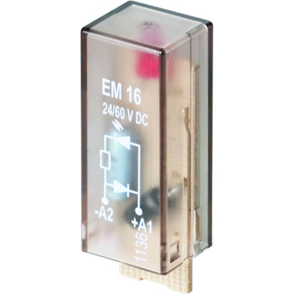 Steckmodul (value.1292944) med LED, Med friløbsdiode 10 stk Weidmüller RIM-I 2 110/230VDC Lysfarve: Rød Passer til serie: Weidmü