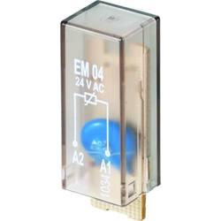 Steckmodul (value.1292944) Med varistor, Uden LED 10 stk Weidmüller RIM-I 4 24VUC VAR Passer til serie: Weidmüller serie RIDERSE