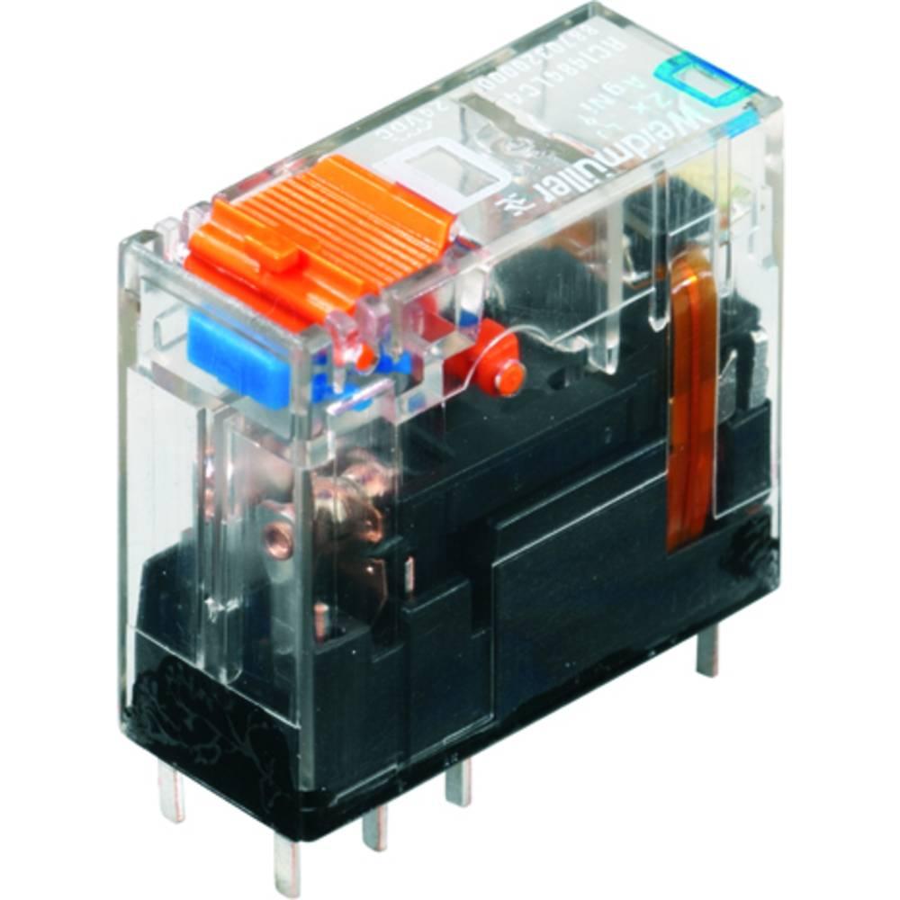 Vtični releji 230 V/AC 8 A 2 x preklopni Weidmüller RCI484730 10 kosov