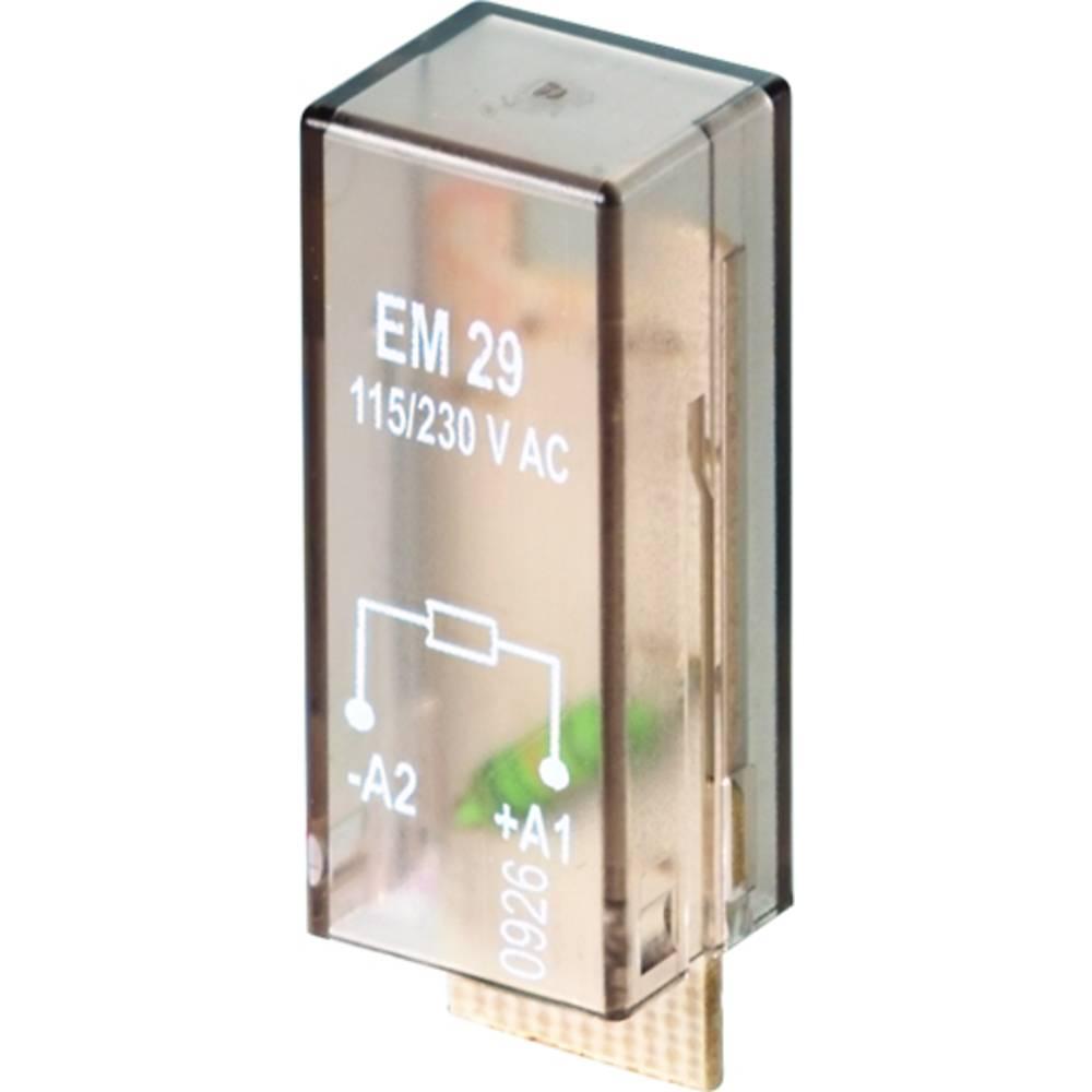 Indstiksmodul med modstand, Uden LED 10 stk Weidmüller RIM I 1 R 110 / 230V Passer til serie: Weidmüller serie RIDERSERIES RCI,