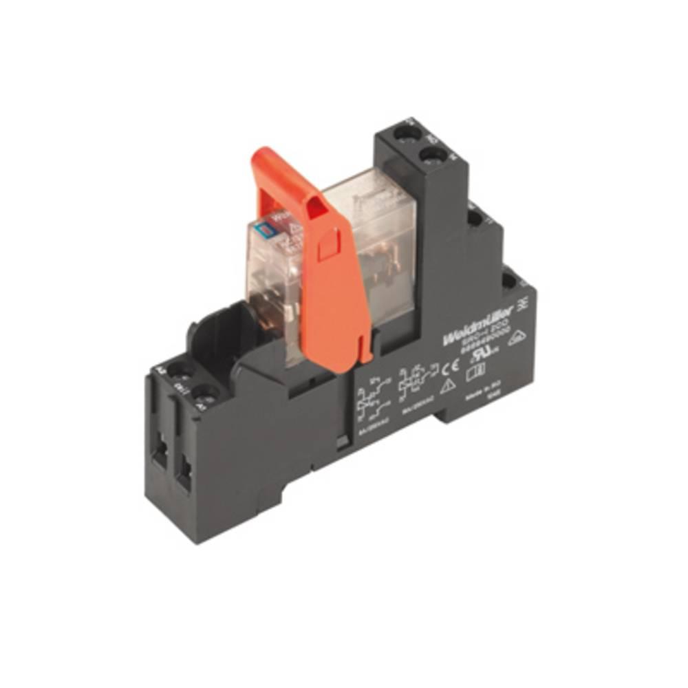 Relækomponent 10 stk Weidmüller RCIKIT 24VDC 2CO LED Nominel spænding: 24 V/DC Brydestrøm (max.): 8 A 2 x omskifter