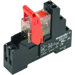 Relejni modul RCIKIT 24VAC 2CO LD/PB Weidmüller nazivni napon: 24 V/AC uklopna struja (maks..): 8 A 2 izmjenjivač 10 komada