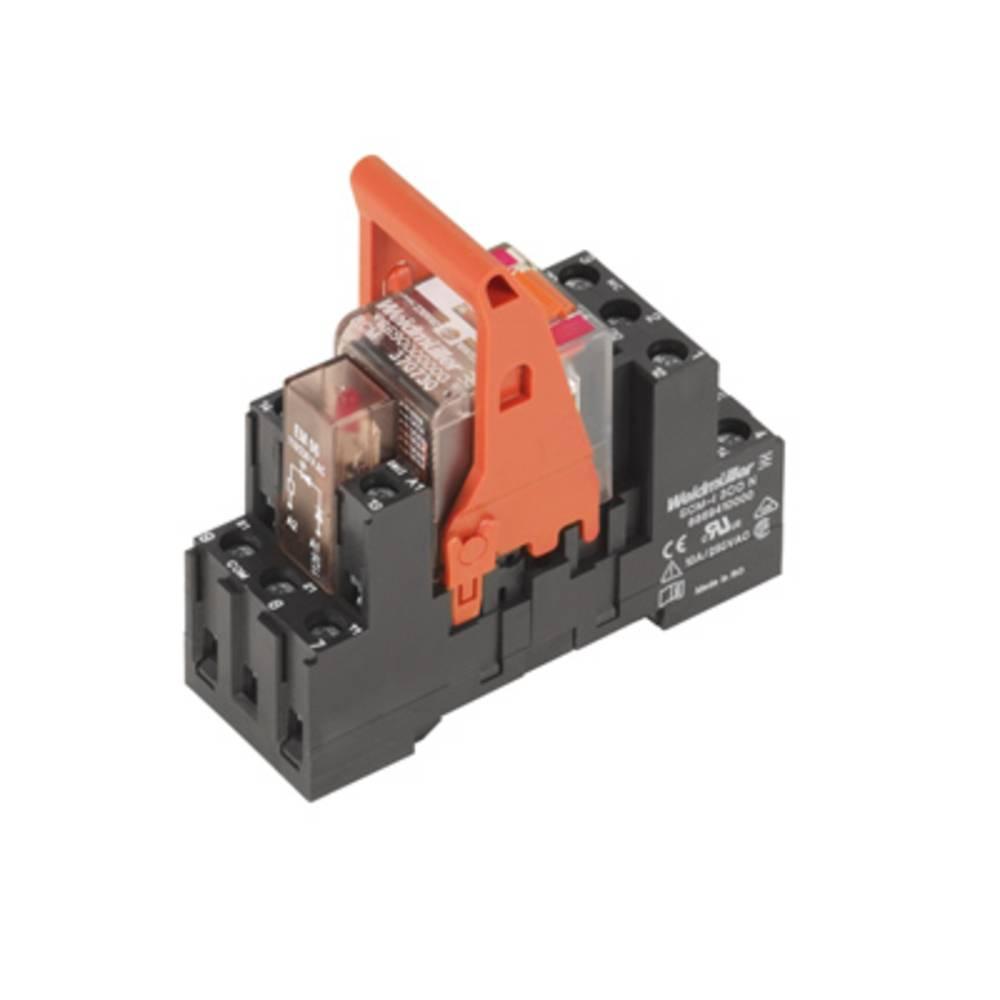 Relækomponent 10 stk Weidmüller RCMKIT-I 24VAC 3CO LD Nominel spænding: 24 V/AC Brydestrøm (max.): 10 A 3 x omskifter