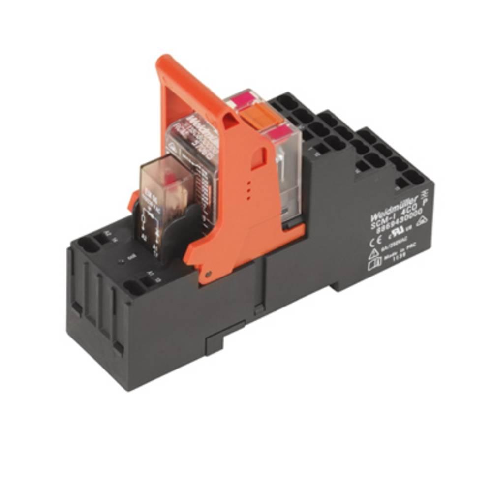 Relækomponent 10 stk Weidmüller RCMKITP-I 230VAC 2CO LD Nominel spænding: 230 V/AC Brydestrøm (max.): 12 A 2 x omskifter
