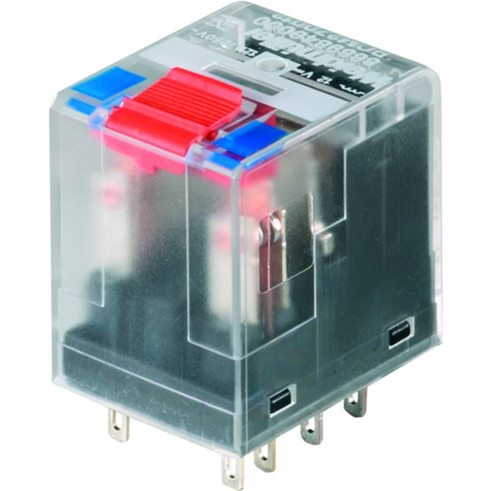 Vtični releji 110 V/DC 10 A 3 x preklopni Weidmüller RCM370BB0 10 kosov