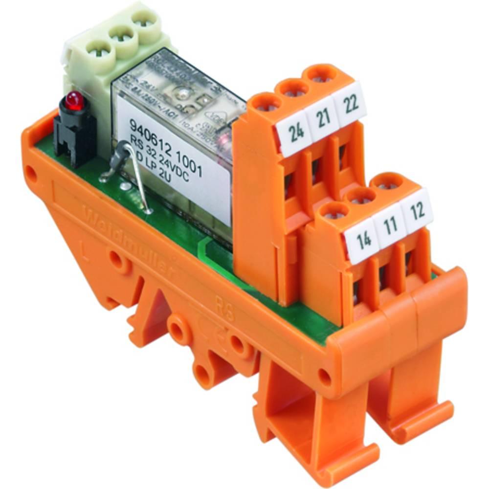 Tiskano vezje za rele 10 kosov Weidmüller RS 32 230VUC LD LP 2U 2 x preklopni
