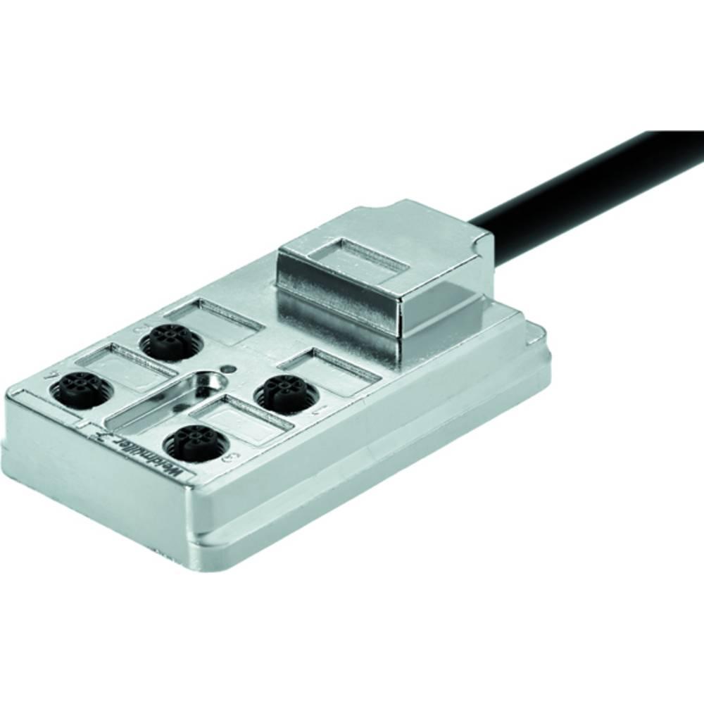 Razdelilnik za pasivne senzorje in aktuatorje SAI-4-FMM-4P M12 10M Weidmüller vsebuje: 3 kose