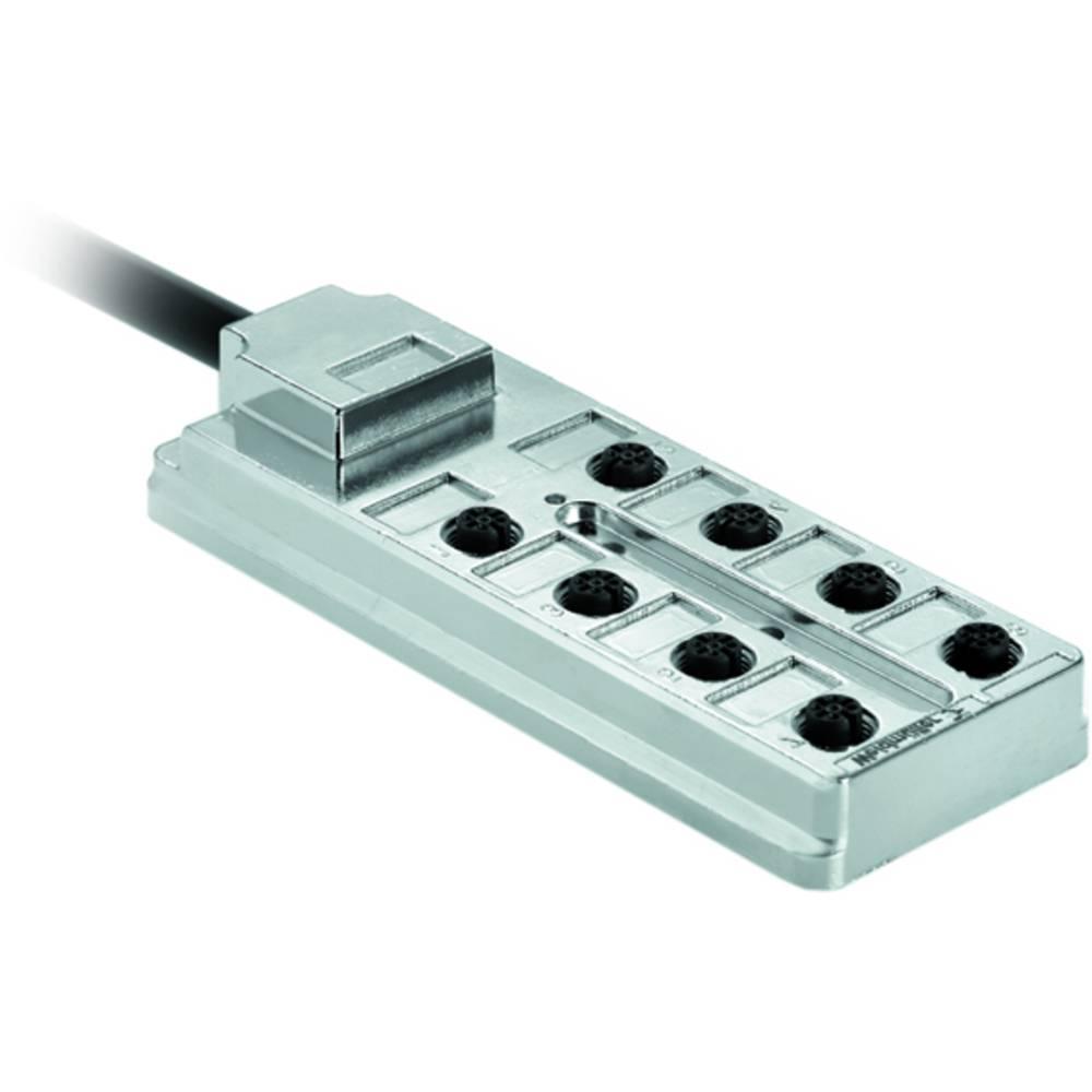 Razdelilnik za pasivne senzorje in aktuatorje SAI-8-FMM-4P M12 10M Weidmüller vsebuje: 3 kose