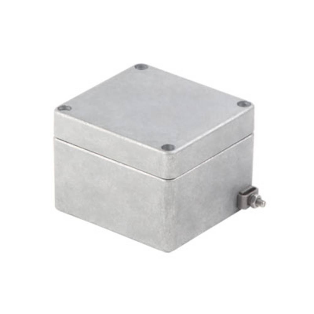 Universalkabinet Aluminium Grå (RAL 7001) Weidmüller KLIPPON K01 RAL7001 10 stk