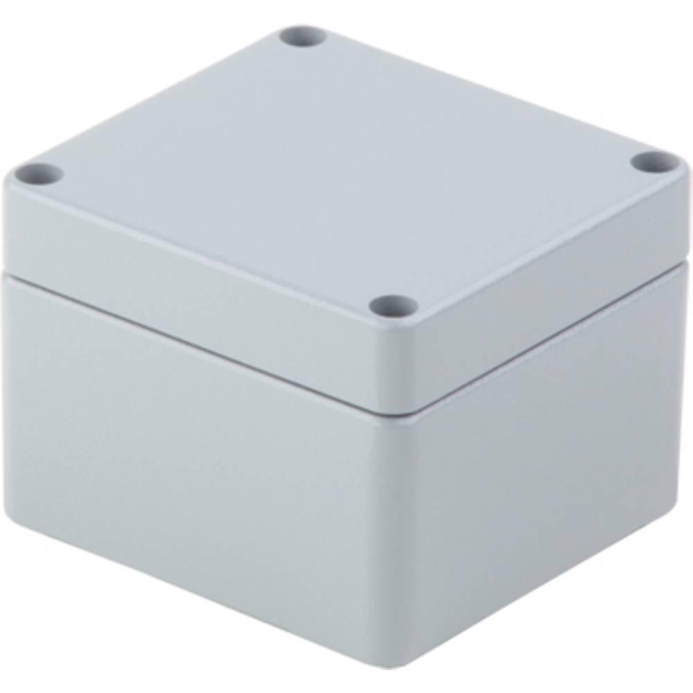 Universalkabinet Aluminium Grå (RAL 7001) Weidmüller KLIPPON K1 RAL7001 10 stk