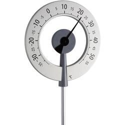 Analogni termometer TFA, srebrna, notranja in zunanja uporaba, 12.2055.10