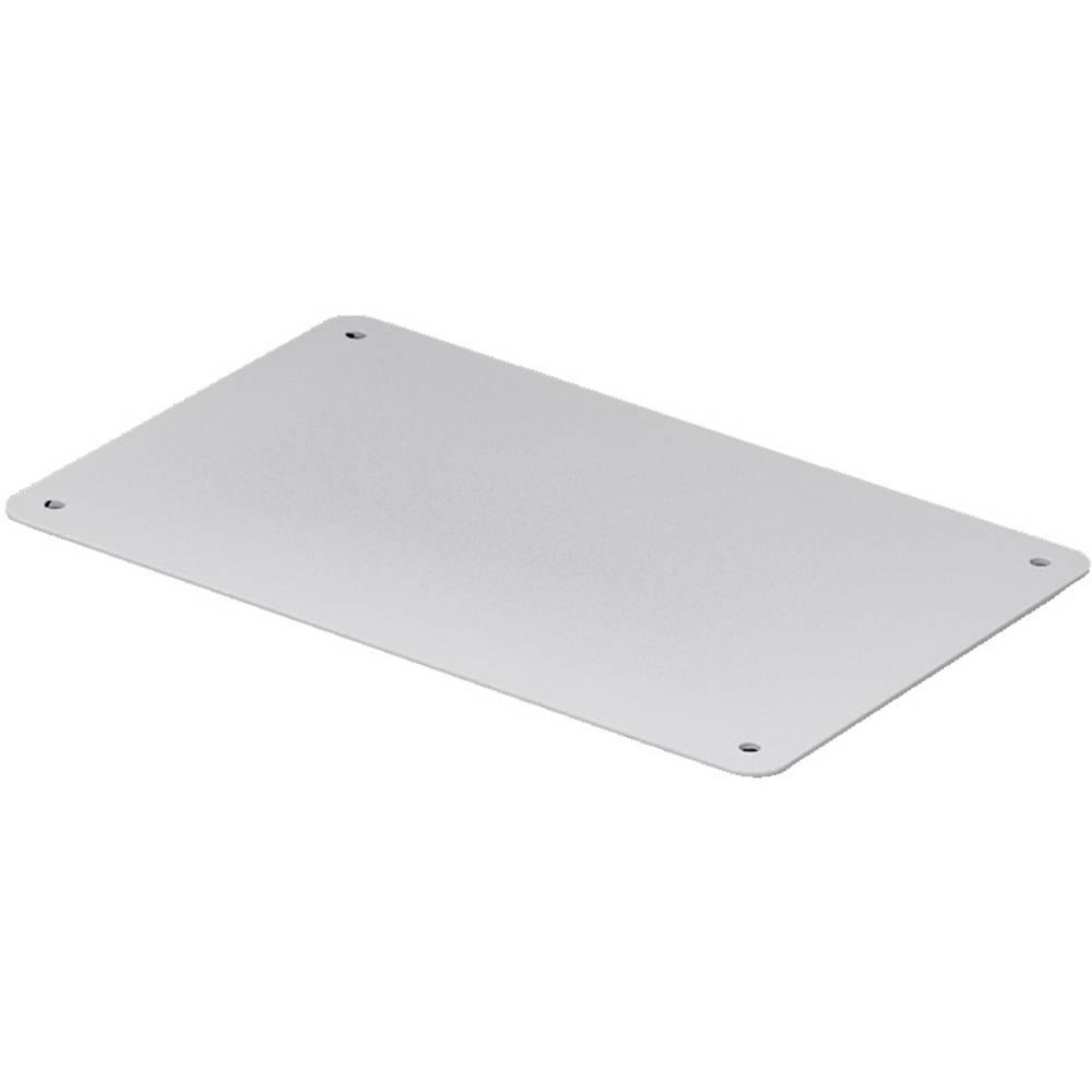 Kabelska uvodna plošča zaprta svetlo sive barve (RAL 7035) Rittal SV 9665.785 4 kos