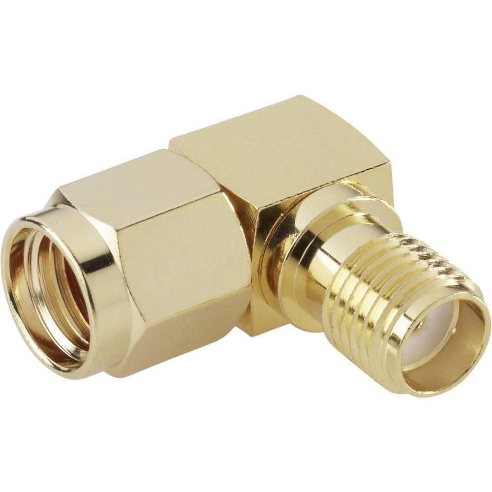 SMA-obraten adapter SMA-obraten vtič - SMA-vtičnica BKL Electronic 0419111 1 kos