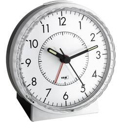 Kvarts Väckarklocka TFA 60.1010 Silver Larmtider 1 Flourescerande Visare