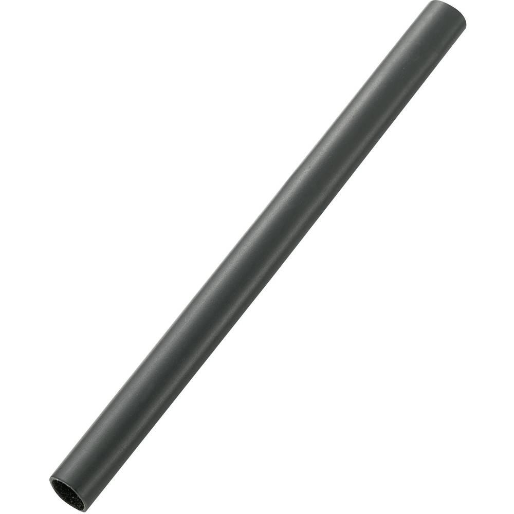 Srednje debelo stenska skrčljiva cev z lepilom pred/po krčenju: 28 mm/6 mm razmerje 3:1 1.22 m črna (UV-odporno)