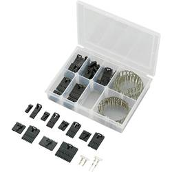 Bøsningsliste (standard) Conrad Components 393806 Rastermål: 2.54 mm 1 Set