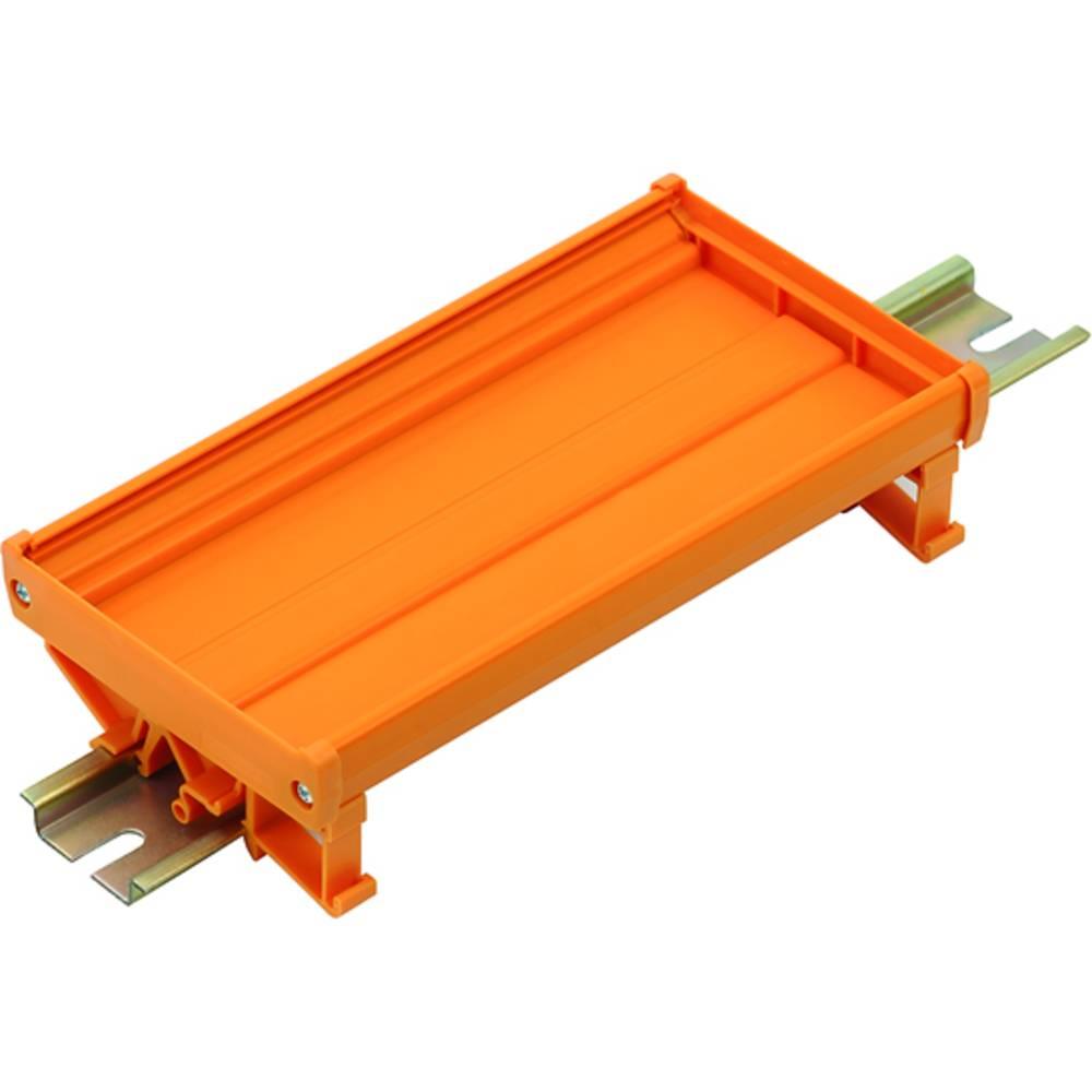 DIN-skinne-hus basiselement Weidmüller PF RS 90 OR 2000MM Orange 2 m