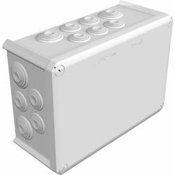 Avgreningsbox (LxBxH) 285 x 201 x 120 mm OBO Bettermann Kabelabzweigkasten T350 Ljusgrå (RAL 7035) IP66