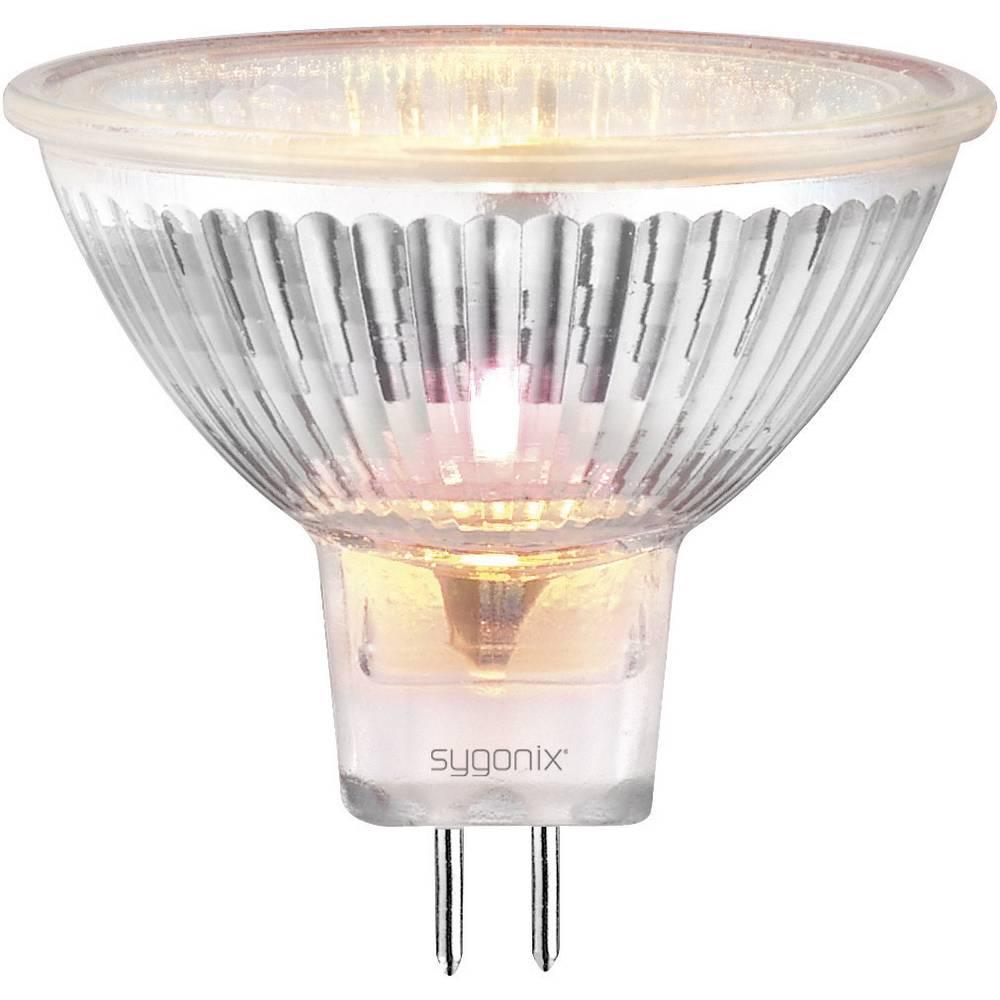 Halogenska žarnica Sygonix 50 mm, 12V, GU5.3, 35 W, topla bela, svetloba, reflektorska, zatemnilna 20362V