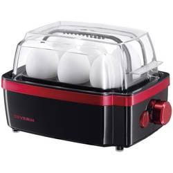 Kuhalo za jaja Severin EK 3156, crno-crvene metalik boje, pribl. 400 W