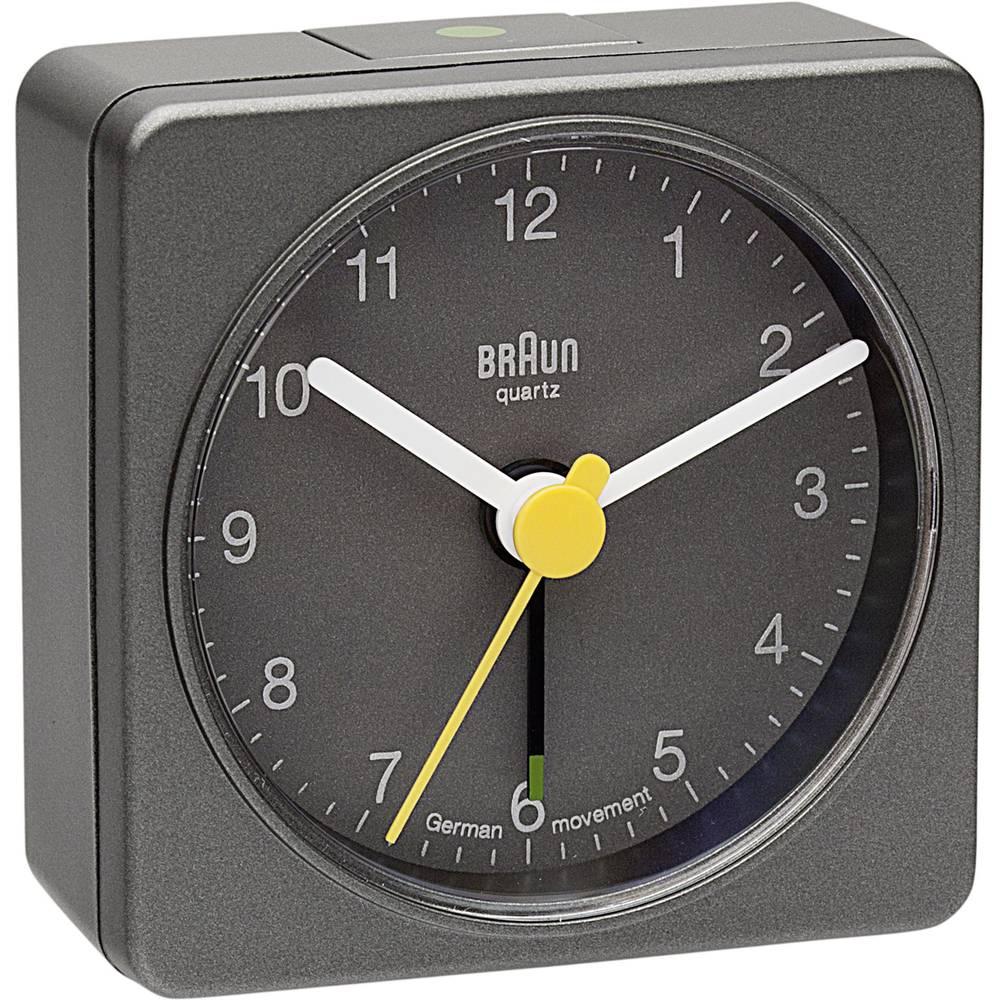 Quarz Vækkeur Braun 66031 Grå Alarmtider 1