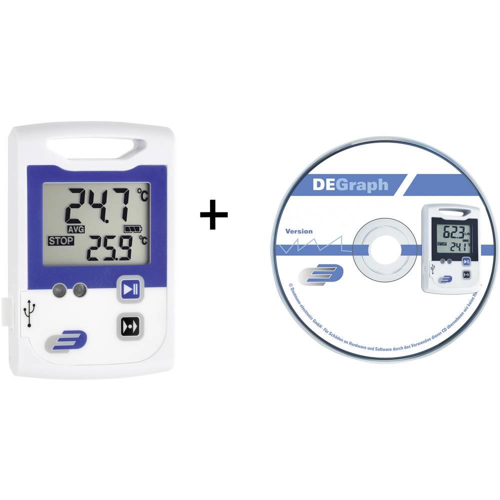 Dostmann electronic LOG100 CRYO temperaturni shranjevalnik podatkov, zapisovalnik meritev, 5005-1105