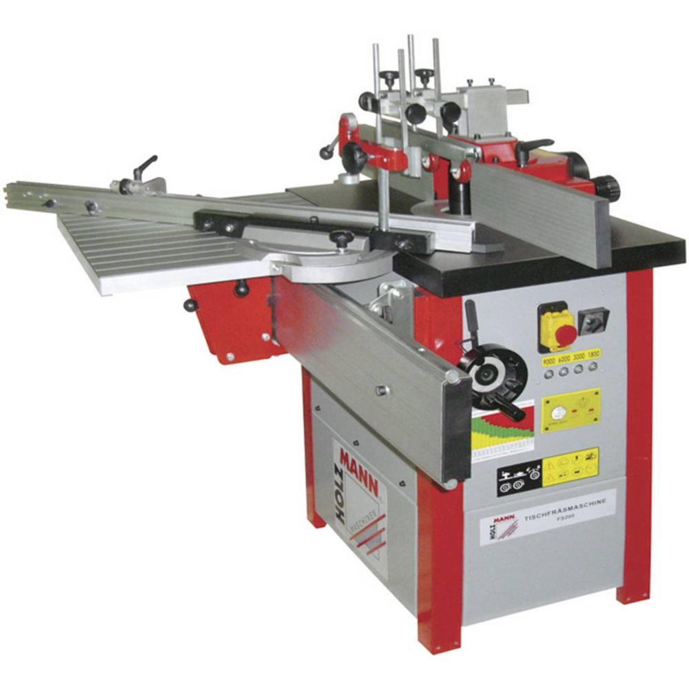 Holzmann Maschinen FS 200 Namizni rezkalni stroj za kovino (S1/S6) 2.8 kW/3.751 kW 230 V H010500003