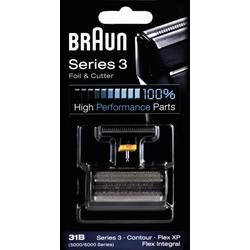 Skärhuvud och skärfolie Braun 31B - Kombipack 5000 Svart 1 set