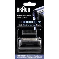 Skärhuvud och skärfolie Braun 10B - Kombipack 1000 Svart 1 set