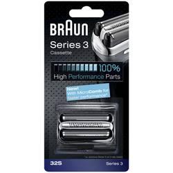 Rakhuvud Braun 32S - Kombipack Silver 1 set
