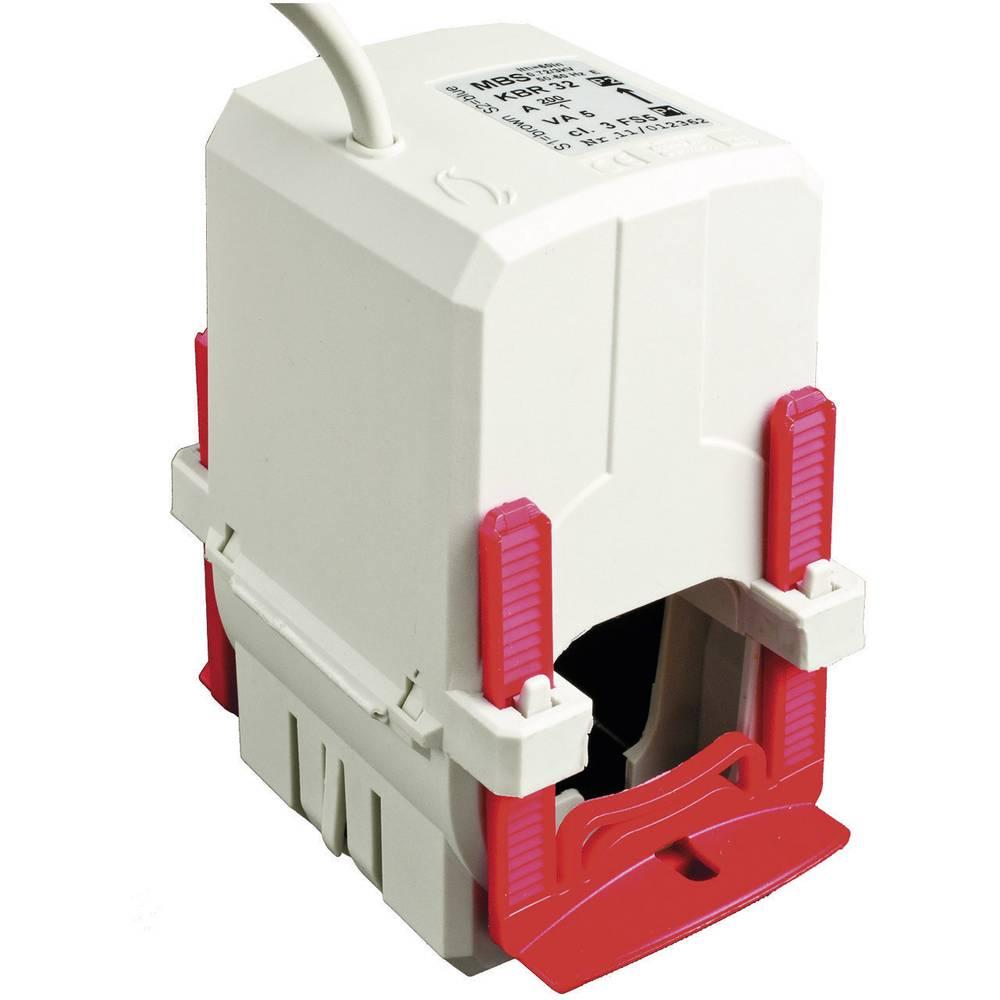 MBS KBR 32 125/1A 2,5VA Kl.3 Tokovni pretvornik, primarni tok:125 A sekundarni tok:1 A premer vhoda kabla :33 mm