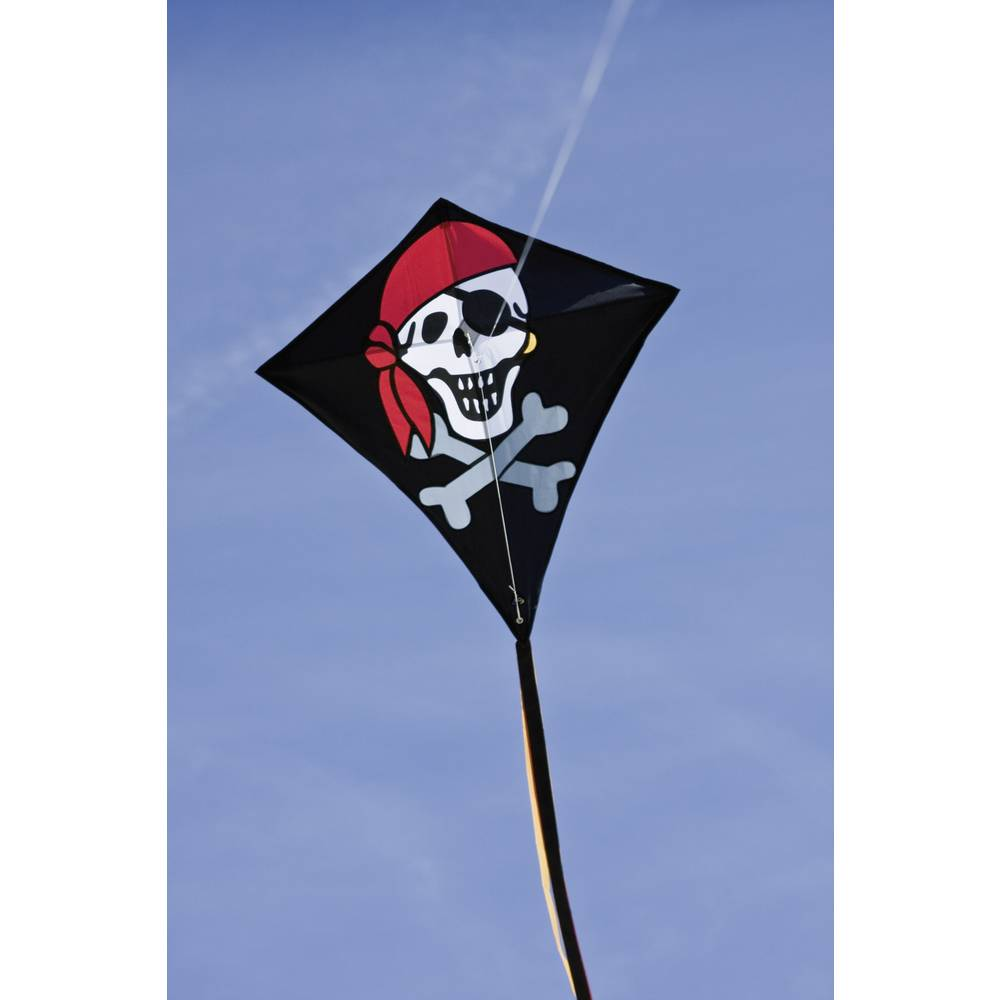 Zmaj HQ Eddy Jolly Roger, pogodan za početnike, pogodan za vjetar snage: 2-5 bft 100053