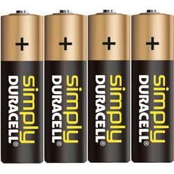 Batteri R6 (AA) Alkaliskt Duracell Simply LR06 1.5 V 4 st