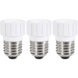 Adapter za vznožek žarnice, E27 na E14, komplet 3 kosov 97029c81a Renkforce
