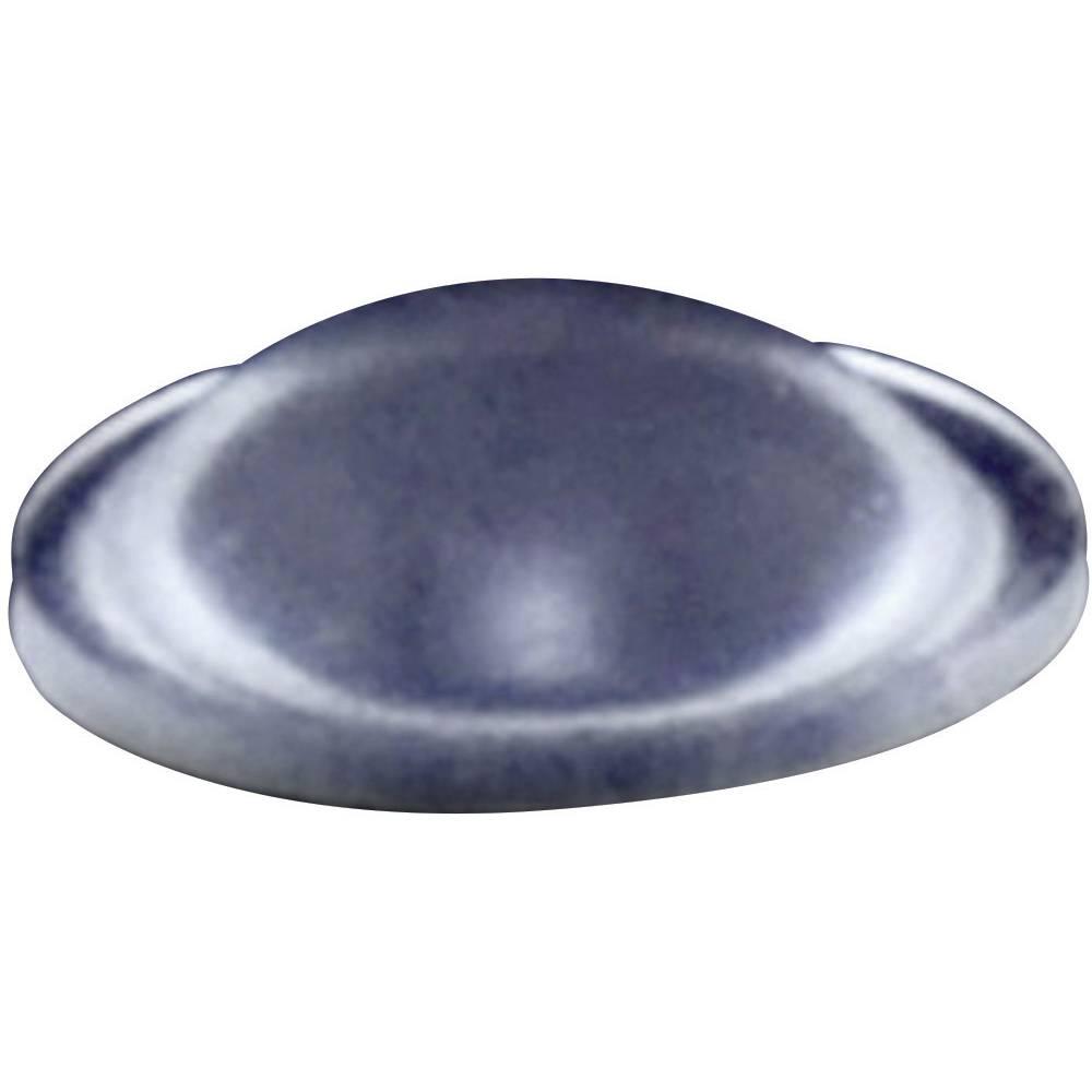 Chassisfod TOOLCRAFT PD2079C Selvklæbende, Rund Transparent (Ø x H) 7.9 mm x 2.5 mm 1 stk