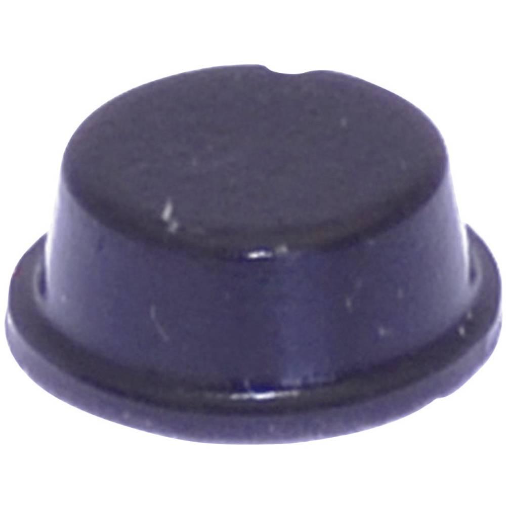 Chassisfod TOOLCRAFT PD2104SW Selvklæbende, Rund Sort (Ø x H) 10 mm x 4 mm 1 stk
