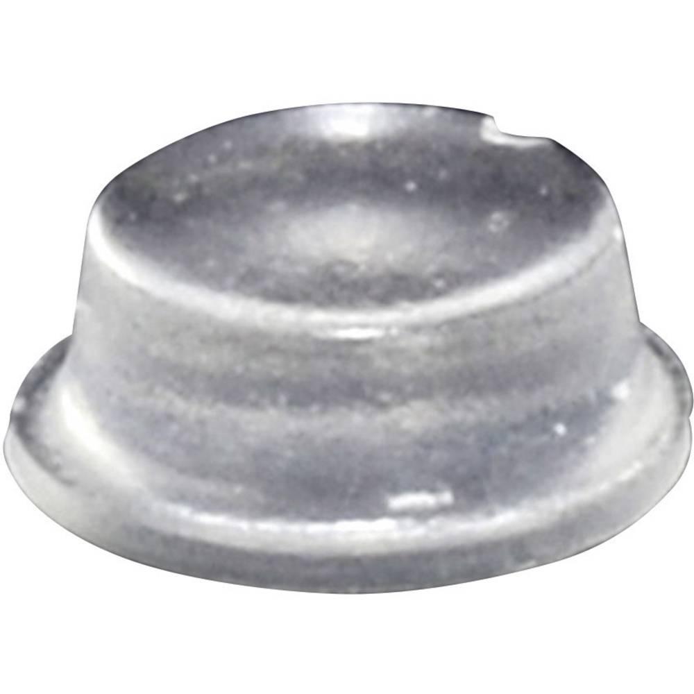 Chassisfod TOOLCRAFT PD2104C Selvklæbende, Rund Transparent (Ø x H) 10 mm x 4 mm 1 stk
