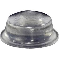 Chassisfod TOOLCRAFT PD2115C Selvklæbende, Rund Transparent (Ø x H) 11.1 mm x 5 mm 1 stk